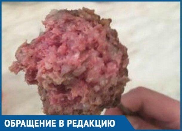 Сырые вонючие котлеты и боли в животе: Родители пожаловались на еду в школе поселка Ильского