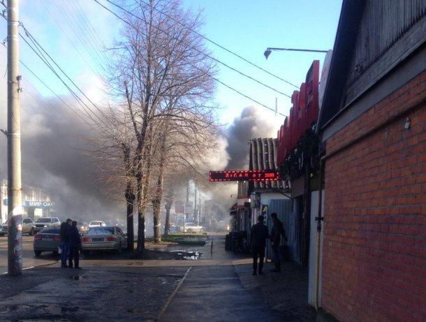 В Краснодаре сгорел частный дом