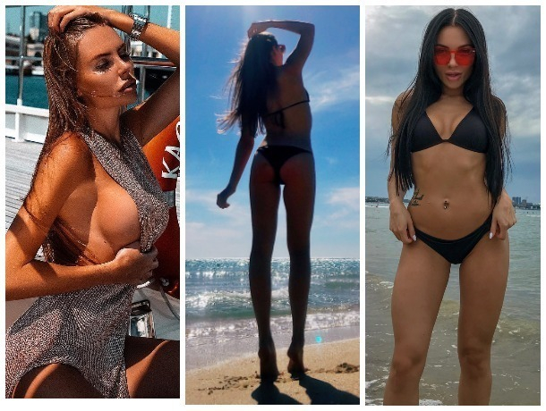 InstaЖар: знойные девушки в купальниках на курортах Краснодарского края