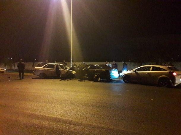 Массовая авария произошла на выезде из Краснодара, есть пострадавшие