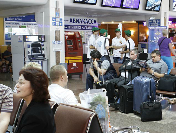 Рейс изНорильска вКраснодар из-за метели схвачен насутки