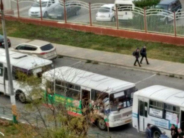 Маршрутки вернули на линии в Новороссийске