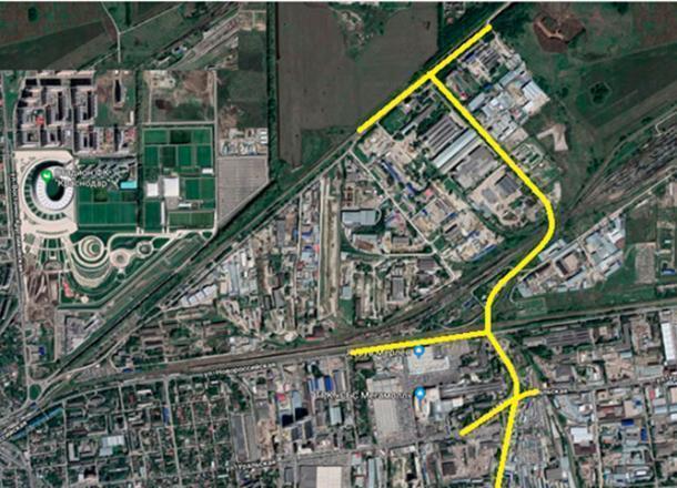 Проектирование восточного подъезда в Краснодаре завершат в октябре 2019 года