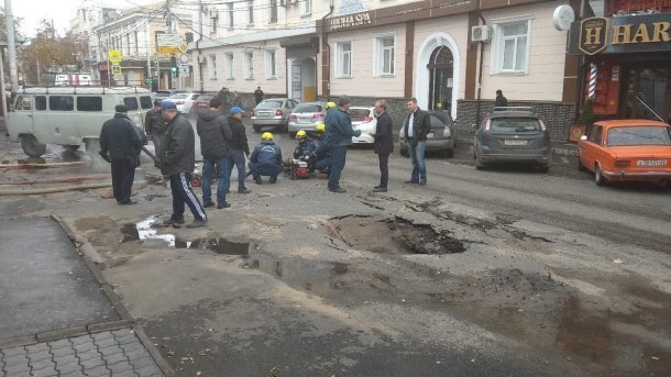Из-за аварии в Краснодаре 9 домов осталось без тепла, перекрыт целый квартал