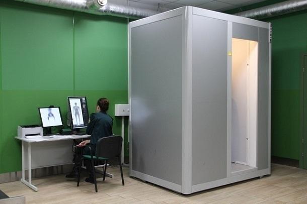 В аэропорту Краснодара появился сканер-рентген для обнаружения предметов внутри человека