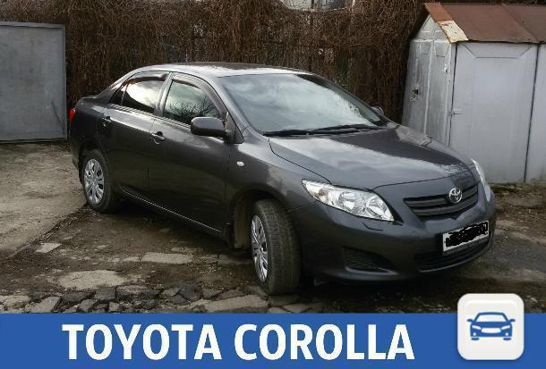 Toyota Corolla в хорошем состоянии продается в Краснодаре