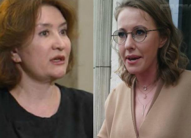 Елена Хахалева может стать целью возможного будущего президента Ксении Собчак