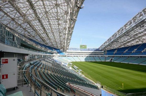 Стадион «Фишт» оградят от алкоголя на время проведения ЧМ-2018 в Сочи