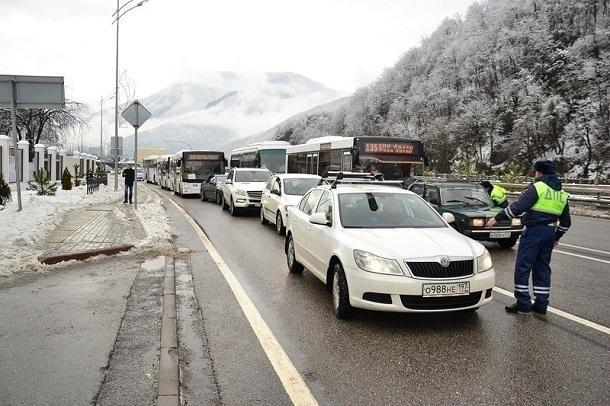 Прокуратура проверит действия служб Сочи во время снегопада