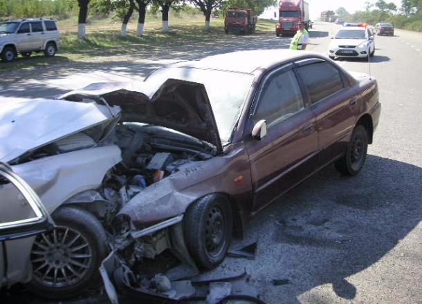 Вжутком ДТП вАбинском районе пострадали 6 человек
