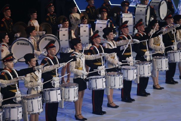 ВСочи состоялась церемония открытия III Всемирных военных игр