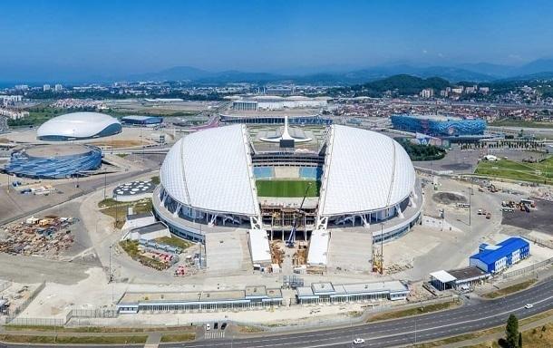 Стадион «Фишт» в Сочи порадовал делегацию ФИФА