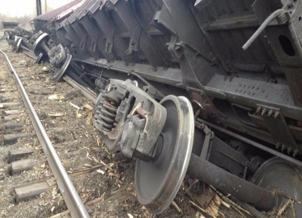 ВТимашевске срельсов сошел грузовой поезд