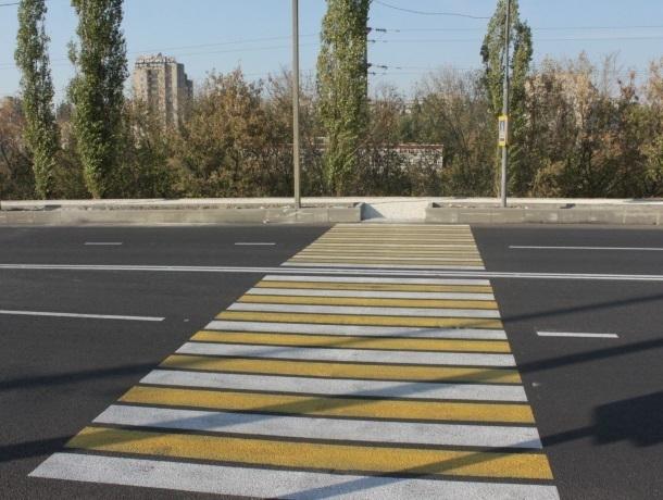 «У пешеходов украли переход»: эксперты Краснодара о стертой разметке