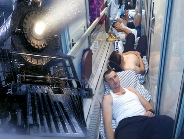 «Полицейский» поезд из Сочи хотят выдать за фейк
