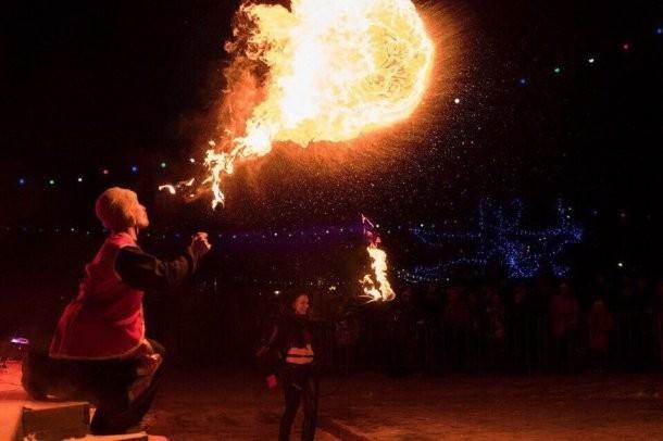 Новогодний фестиваль огня «Вместе Зажигаем» пройдет в трех кубанских городах