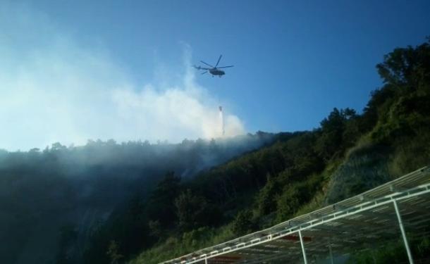 Чрезвычайная пожароопасность сохраняется на Кубани