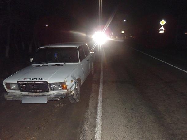 НаКубани шофёр, сбивший пешехода, сам попал под колеса машины