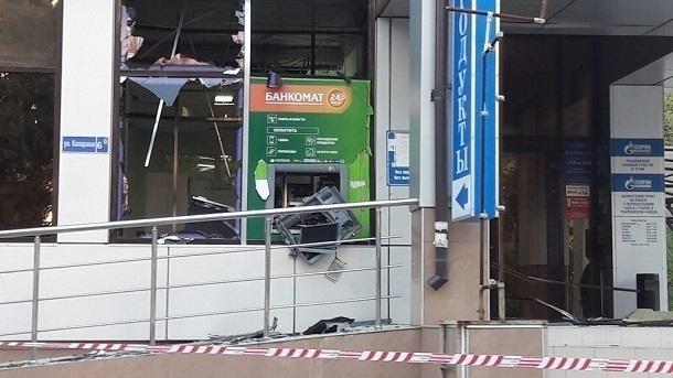 ВТуапсе неизвестные взорвали банкомат ичасть здания