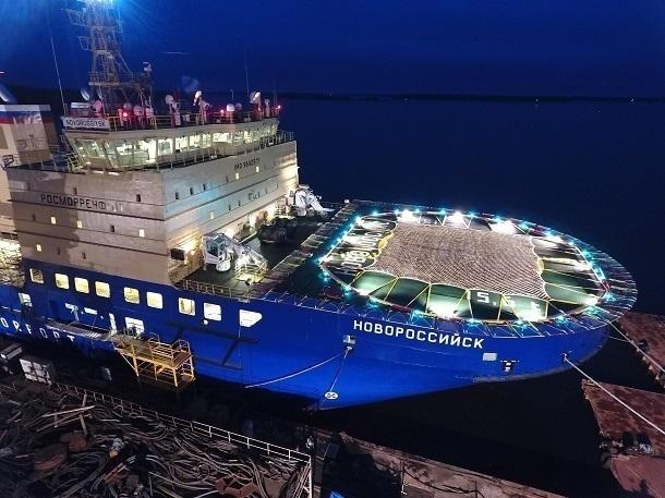 Некоторых участников Арктического форума вАрхангельске разместят вкаютах ледокола «Новороссийск»