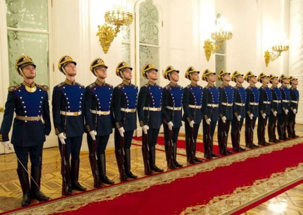 Призывники Кубани отправятся служить в Президентский полк в Кремле