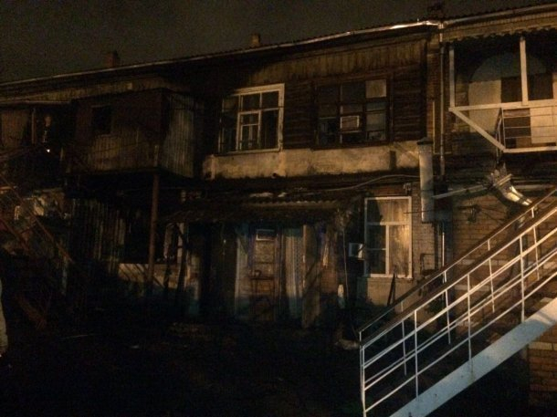 В итоге пожара наулице Гоголя вКраснодаре умер 62-летний мужчина