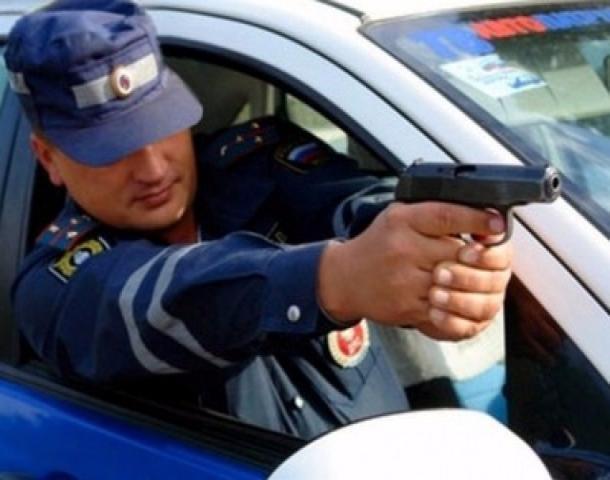 Сотрудники ДПС применили табельное оружие для задержания водителя в Туапсе