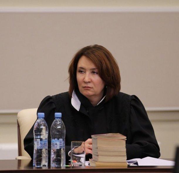 Краснодарская судья Елена Хахалева может нанести «ответный удар»