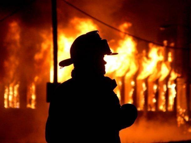 Ночью вКраснодаре произошел пожар. Один человек умер
