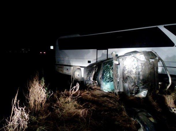 ВДТП савтобусом вТемрюкском районе пострадали 4  человека