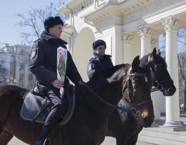 Отобрали автомобили и выдали коней полицейским в Краснодарском крае