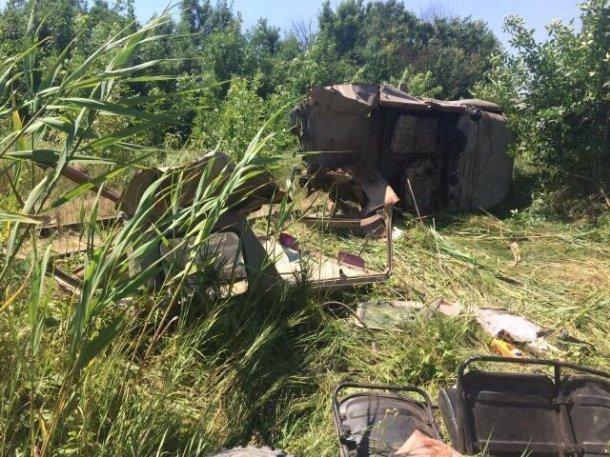 ВСеверском районе пассажирский поезд протаранил джип УАЗ