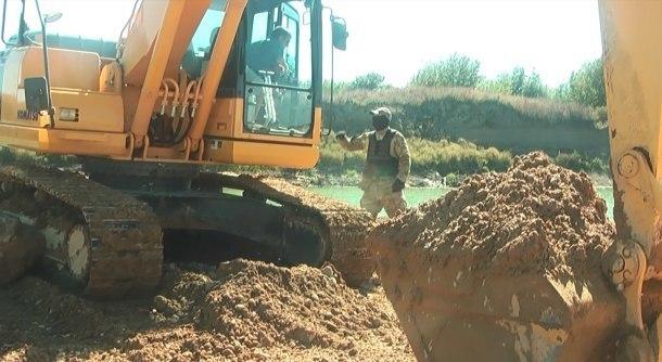 Предприниматель незаконно добыл песка и гравия на 100 млн рублей