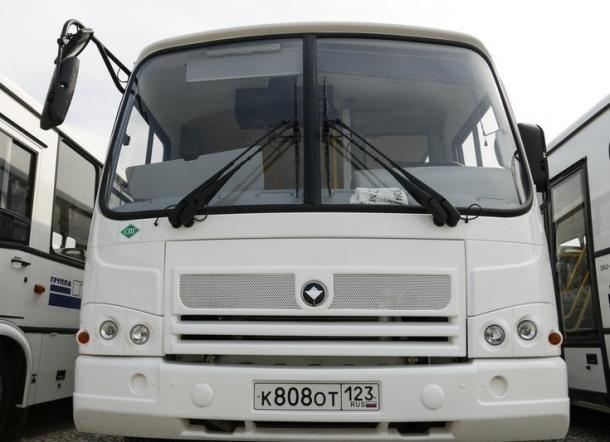 Жители краснодарского ЮМР получили новый автобус