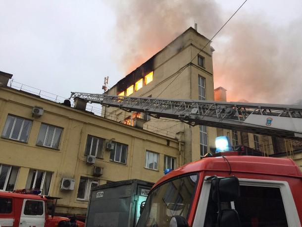 Пожар вздании хлебозавода вСочи удалось потушить