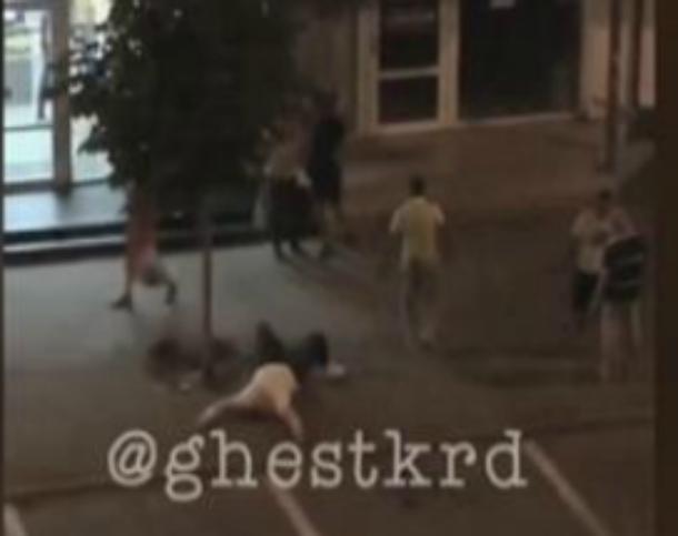 По факту стрельбы в центре Краснодара полиция проведет проверку