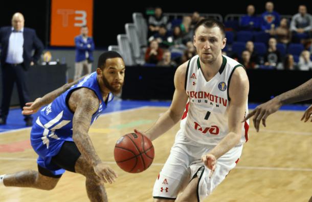«Локомотив-Кубань» обыграл «Енисей» в тяжелом матче
