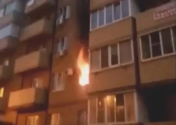 Жители Музыкального микрорайона рассказали о пожаре в Краснодаре