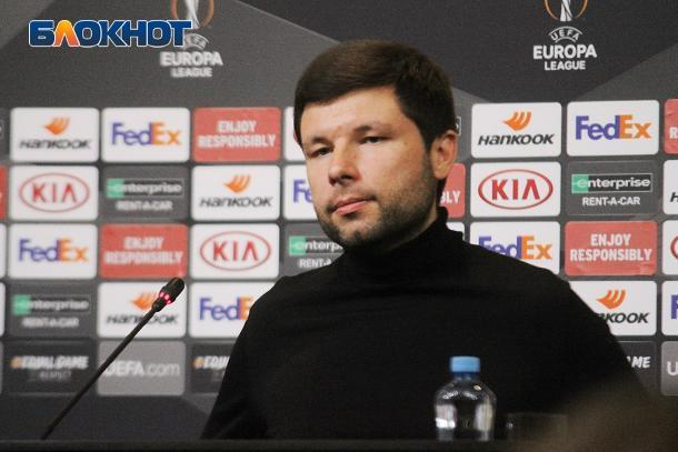Мурада Мусаева на год отстранили от тренерской скамьи «Краснодара»
