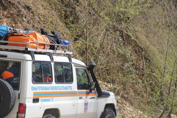 В горной местности Сочи спасатели ищут психически больного пенсионера