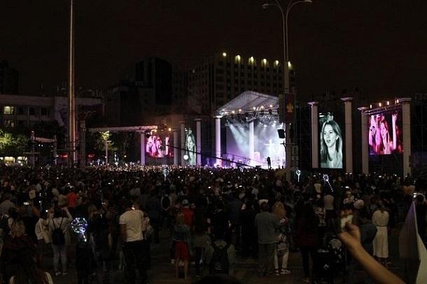 Более 90 тысяч человек отметили второй День города в Краснодаре