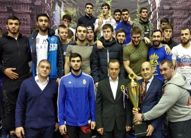 В Краснодаре впервые прошел Всероссийский турнир по панкратиону