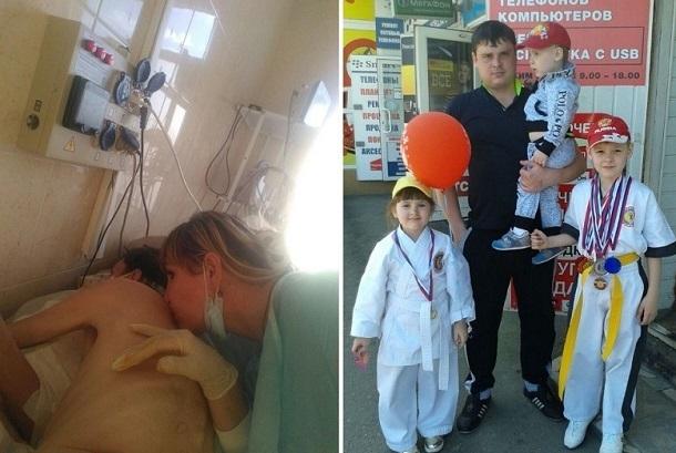 Чуть не умершего от «лечения» ожога в больнице Новороссийска парня возвращают к жизни в Москве