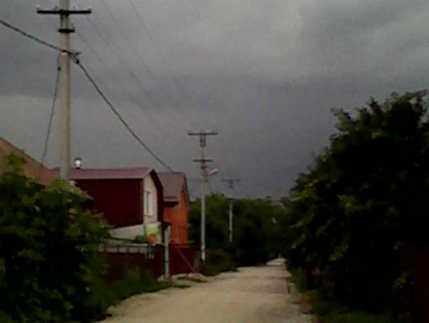 «В Краснодаре ужас» - горожан испугал внезапный шторм