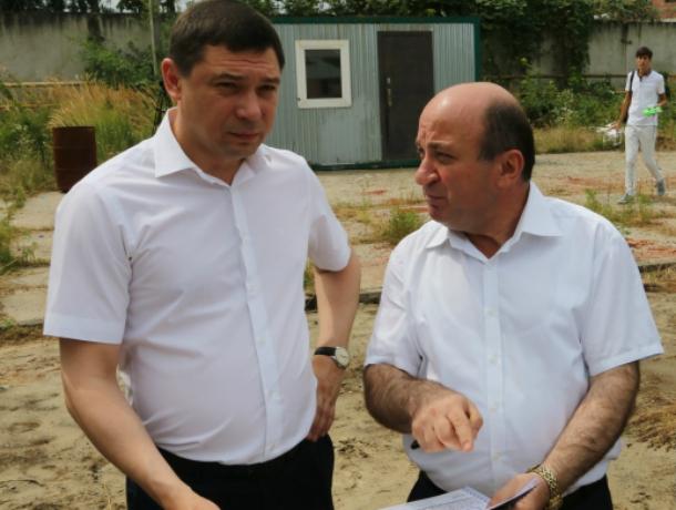 В «Музыкальном» микрорайоне Краснодара построят полноценный детский парк