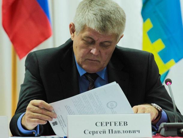 В Краснодарском крае экс-мэра Сергея Сергеева сняли с выборов