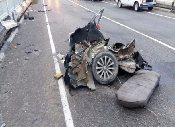 В трагедии вБрюховецком районе чудом остался живой шофёр «Лады»