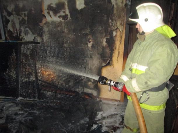 Предпосылкой  смертоносного  пожара вАнапе мог стать неисправный магнитофон