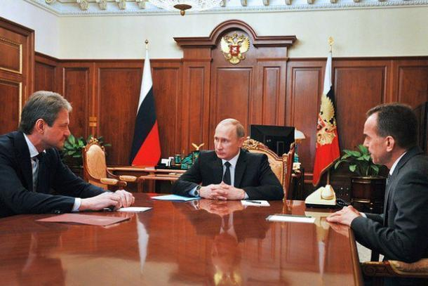 Кондратьев популярней Ткачева: рейтинг медийности затронул Краснодарский край