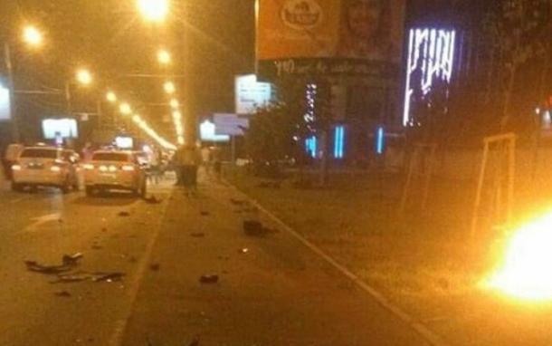 Один человек стал жертвой ДТП с мотоциклом и BMW в Краснодаре